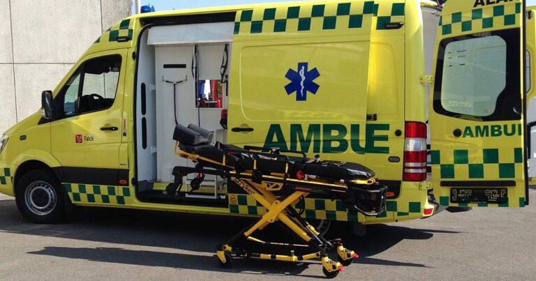 Vægtgrænser på ambulancen