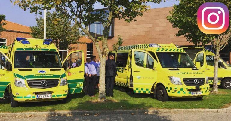 Region Syddanmark godkender Tempo 100 ambulancer