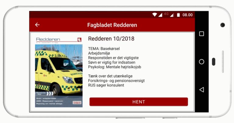 Ny app fra Reddernes Landsklub